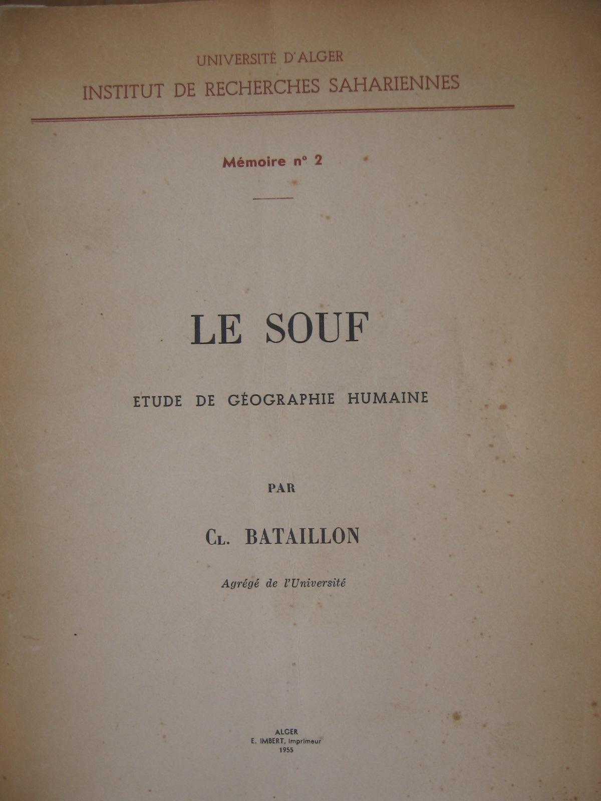 couverture du livre de 1955 d'où proviennent les extraits publiés