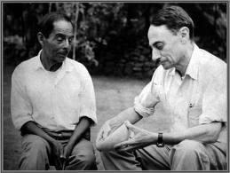 """Guy Stresser-Péan """"sur le terrain"""" au Mexique (CEMCA) vers 1950"""