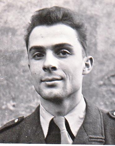 1957, Claude Bataillon en service militaire... en métropole
