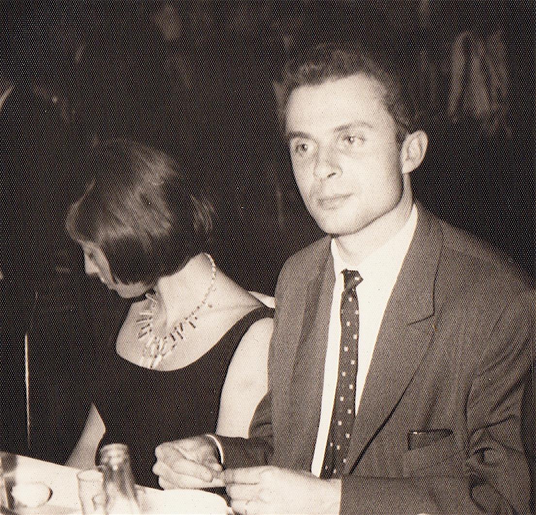 """Mexico, fin 1962, le couple Bataillon, Françoise et Claude, """"coopèrent"""" à l'Institut Français"""