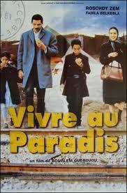 """affiche du film """"vivre au paradis"""""""