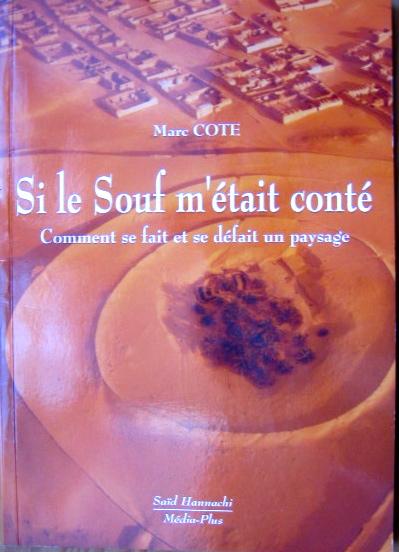 couverture du livre de Marc Côte