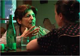 discussion violente entre mère et grand-mère