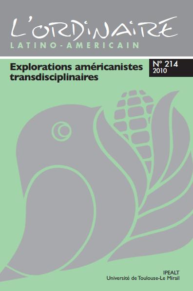 dernière version de la couverture de l'Ordinaire [du mexicaniste...puis américain] dans sa version papier