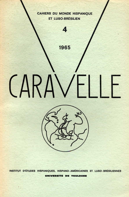 couverture initiale de la revue Caravelle, années 1960