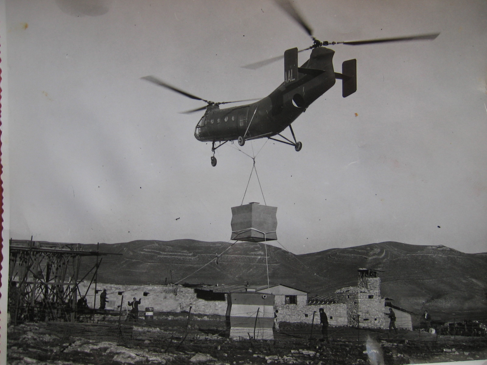 La SAS de Guentis, très isolée, était ravitaillée par hélicoptère