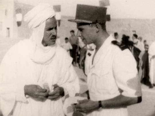 Pierre Bataillon, Ouled Djellal, 1949