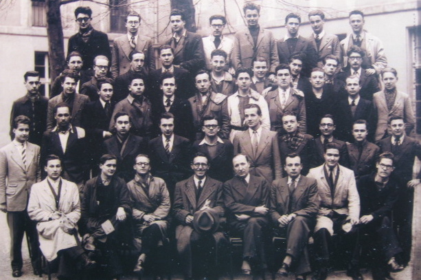 Photo de la classe de colo, Lycée Henri IV, Paris, 1942-43