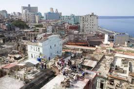 ville de La Havane depuis la terrasse de l'immeuble