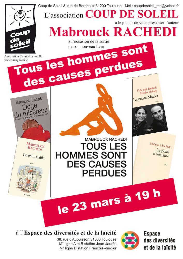 affiche de la manifestation à Toulouse