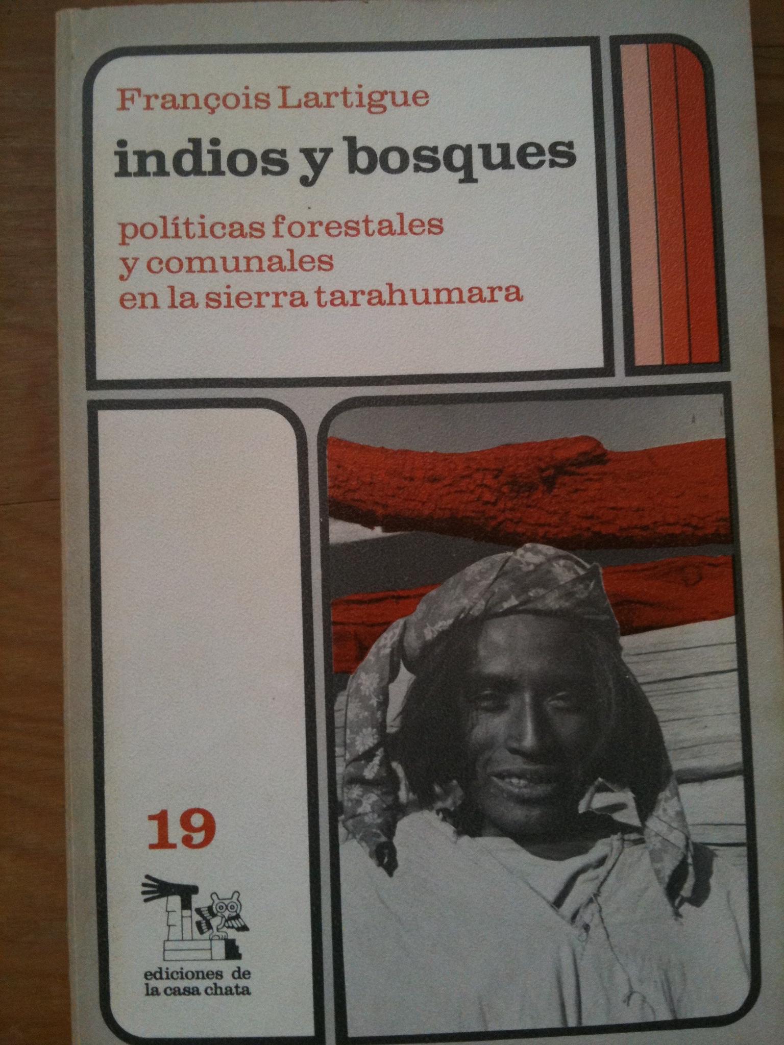 """couverture du livre tiré par Lartigue de ses """"terrains"""" en Tarahumara"""
